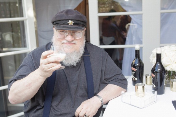 BEVERLY HILLS, CA - SEPTEMBER 21: Writer George R. R. Martin attends the HBO Luxury Lounge featuring Motorola and PANDORA Jewelry in honor of The 65th Primetime Emmy Awards at The Four Seasons Hotel on September 21, 2013 in Beverly Hills, California. (Photo by Todd Oren/Getty Images for Mediaplacement)