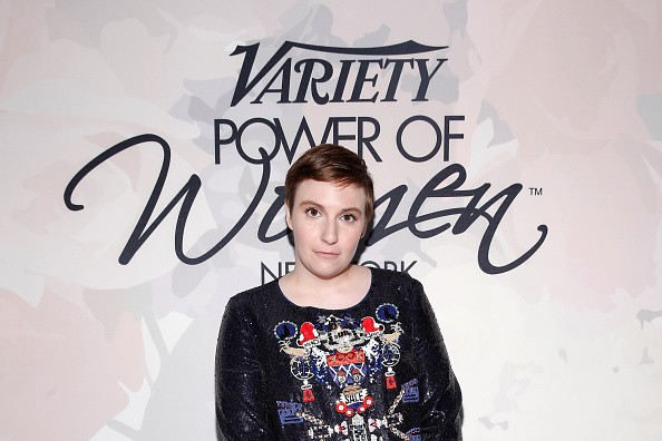 NEW YORK, NY - APRIL 24: Lena Dunham attends Variety's Power of Women New York presented by Lifetime at Cipriani 42nd Street on April 24, 2015 in New York City. (Photo by Brian Ach/Getty Images for Variety)