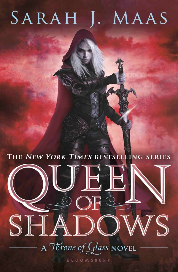 Queen of Shadows by Sarah J Maas book cover