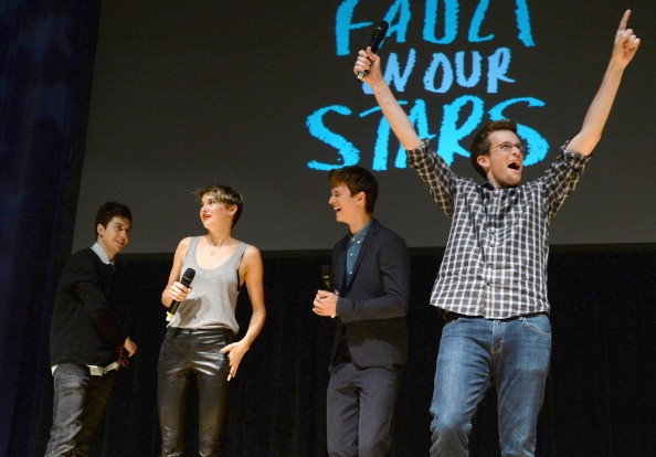 'The Fault In Our Stars' Nashville Red Carpet and Fan Event with Shailene Woodley, Ansel Elgort, Nat Wolff and John Green