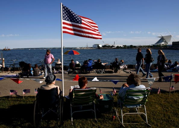 Milwaukee Hosts 4th Of July Fireworks Night Prior To Independence Day