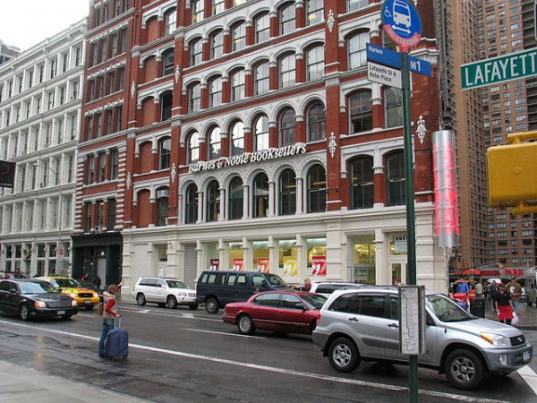 Barnes & Noble Bookstore in New York City