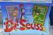 Books Benches, Dr Seuss
