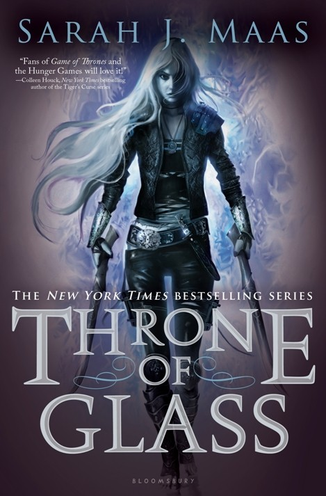 """Throne of Glass"" by Sarah J. Maas Book Cover"