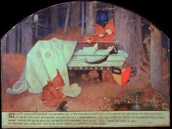 Snow White in a Coffin