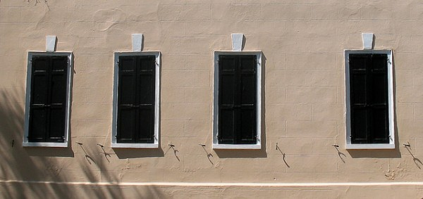 Windows in Charleston, S.C.