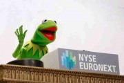 The Muppets Ring The NYSE Opening Bell