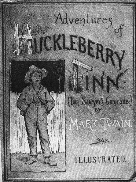Cover Of 'Huckleberry Finn'