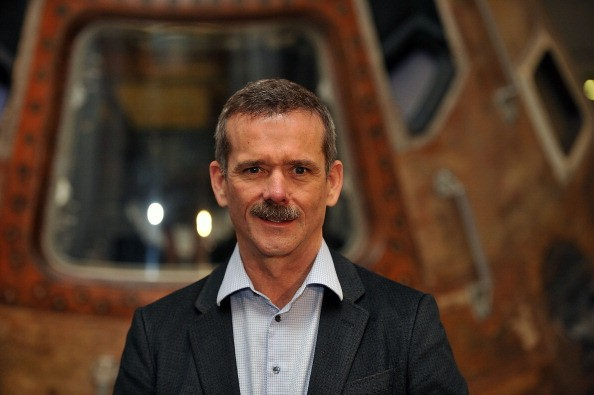 Astronaut Chris Hadfield Visits The Science Museum